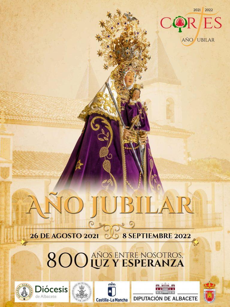 Poster del Año Jubilar Ntra. Sra. de Cortes